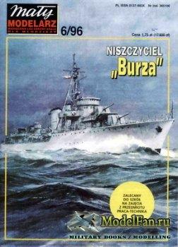 Maly Modelarz №6 (1996) - Niszczyciel