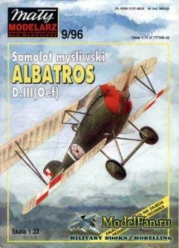Maly Modelarz №9 (1996) - Samolot Albatros D.III (Oef)