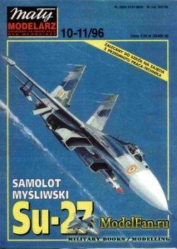Maly Modelarz №10-11 (1996) - Samolot mysliwski Su-27