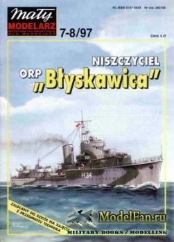 Maly Modelarz №7-8 (1997) - Niszczyciel ORP