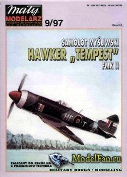 Maly Modelarz №9 (1997) - Samolot Hawker