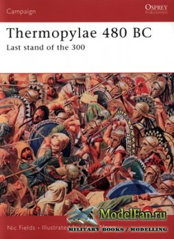 Osprey - Campaign 188 - Thermopylae 480 BC. Last Stand of the 300