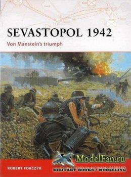 Osprey - Campaign 189 - Sevastopol 1942. Von Manstein's Triumph
