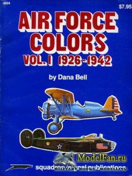 Squadron Signal (Specials Series) 6024 - Air Force Colors Vol.I 1926-1942