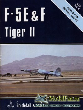 In Detail & Scale Vol.5 - F-5E & F Tiger II