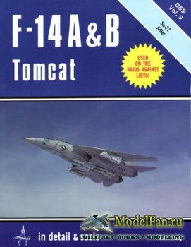 In Detail & Scale Vol.9 - F-14 A & B Tomcat