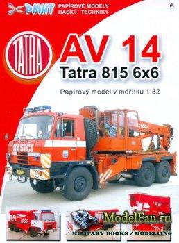 PMHT 7 (Papírové Modely Hasičské Techniky) - AV 14 Tatr ...