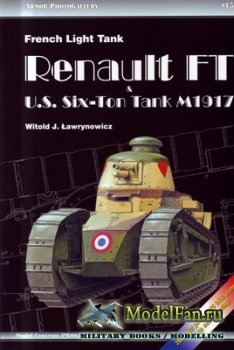 Armor PhotoGallery #15 - French Light Tank Renault FT U.S. Six-Ton Tank M1917