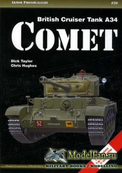 Armor PhotoGallery #20 - British Cruiser Tank A34 Comet