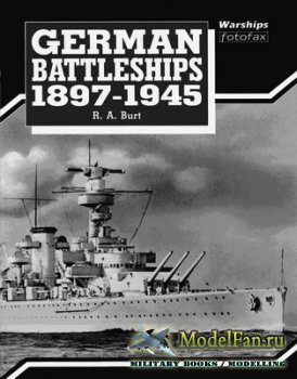 Arms and Armour Press - Warships Fotofax - German Battleships 1897-1945
