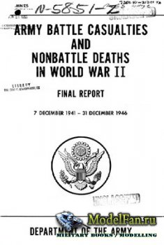 Army Battle Casualties and Nonbattle Deaths in World War II (7 December 1941 - 31 December 1946)