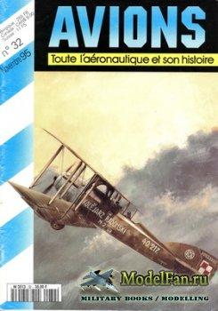 Avions №32 (Ноябрь 1995)