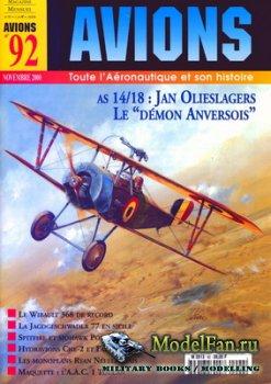 Avions №92 (Ноябрь 2000)