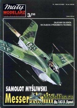 Maly Modelarz №3 (1998) - Samolot Messerschmitt Me-163 B Komet