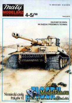 Maly Modelarz №4-5 (1998) - Czolg PzKpfw VI Ausf.H1