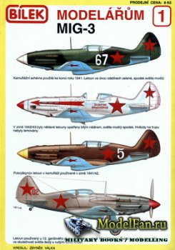 Bilek Modelarum 1 - MiG-3