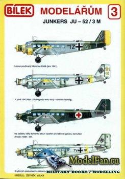 Bilek Modelarum 3 - Junkers Ju-52/3M
