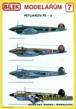 Bilek Modelarum 7 - Petljakow Pe-2