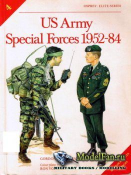 Osprey - Elite 4 - US Army Special Forces 1952-84