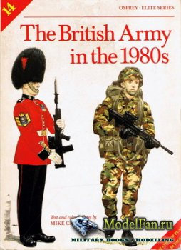 Osprey - Elite 14 - The British Army in the 1980s