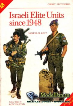 Osprey - Elite 18 - Israeli Elite Units Since 1948