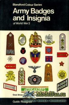 Blandford Press - Army Badges and Insignia of World War 2 (Book One)
