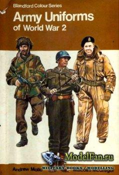 Blandford Press - Army Uniforms of World War 2 (Blandford Colour Series)