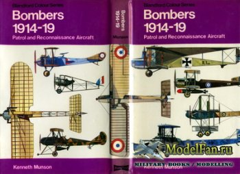 Blandford Press - Bombers 1914-19. Patrol and Reconnaissance Aircraft