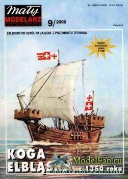 Maly Modelarz №9 (2000) - Koga Elblanska z 1350 roku