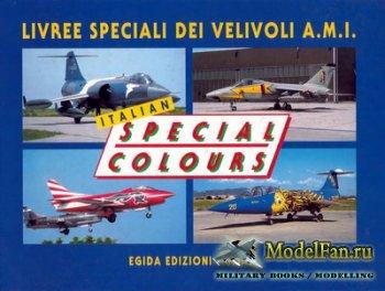 Italian Special Colours. Livree Speciali Dei Velivoli A.M.I. (1994 Edition)