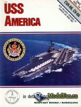In Detail & Scale Vol.34 - USS America (CVA-66, CV-66)
