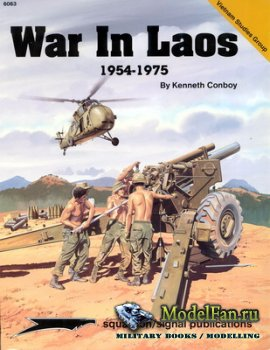 Squadron Signal (Specials Series) 6063 - War in Laos 1954-1975