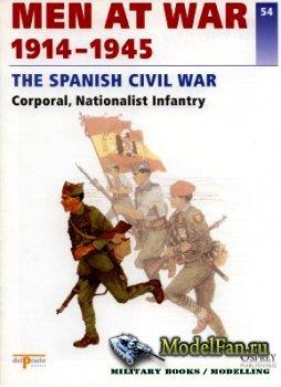 Osprey - Delprado - Men at War 54 - The Spanish Civil War