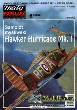 Maly Modelarz №6 (2002) - Samolot Hawker Hurricane Mk.I
