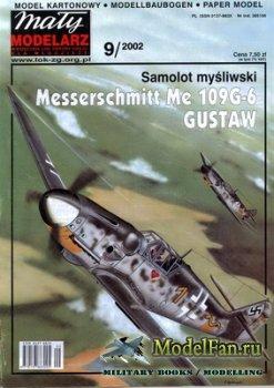 Maly Modelarz №9 (2002) - Samolot Messerschmitt Me-109G-6 Gustaw