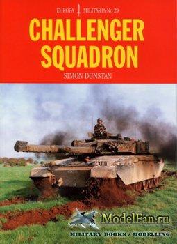 Crowood Press (Europa Militaria №29) - Challenger Squadron