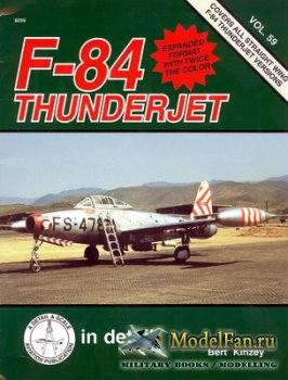 In Detail & Scale Vol.59 - F-84 Thunderjet