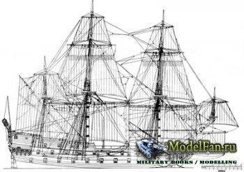 Чертежи парусных кораблей (Halcon 1840 Goletta, Half Moon 1609, Hamburg, Ha ...