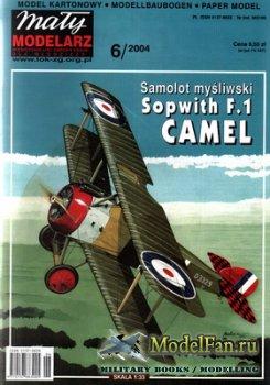 Maly Modelarz №6 (2004) - Samolot mysliwski Sopwith F.1 Camel