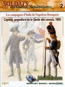 Osprey - Delprado - Soldats des Guerres Napoleoniennes 2 - Les Campagnes D ...