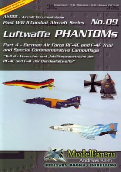 AirDOC №09 - Luftwaffe Phantoms (Part 4) - German Air Force RF-4E and F-4F  ...