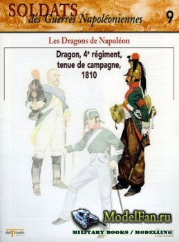 Osprey - Delprado - Soldats des Guerres Napoleoniennes 9 - Les Dragons de N ...
