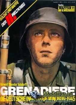 Das III Reich - Sondersheft 11 - Grenadiere. Die Deutsche Infanterie von 19 ...
