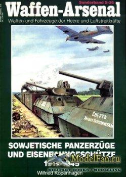 Waffen Arsenal - Sonderband S-36 - Sowjetische Panzerzuge und Eisenbahngesc ...