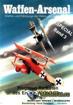 Waffen Arsenal - Special Band 3 - Flugzeug-Raritaten des Ersten Weltkrieges ...