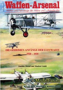 Waffen Arsenal - Special Band 5 - Die Geheimen Anfaenge der Luftwaffe 1920- ...