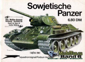 Waffen Arsenal - Band 6 - Sowjetische Panzer