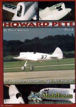 Чертеж радиоуправляемого самолета Howard Pete - Golden Age
