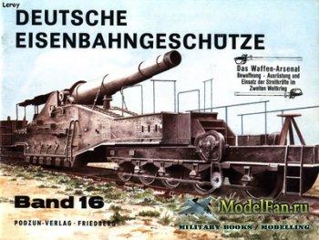 Waffen Arsenal - Band 16 - Deutsche Eisenbahngeschutze