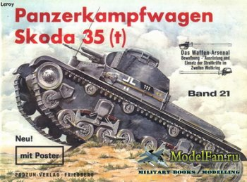 Waffen Arsenal - Band 21 - Panzerkampfwagen Skoda 35 (t)